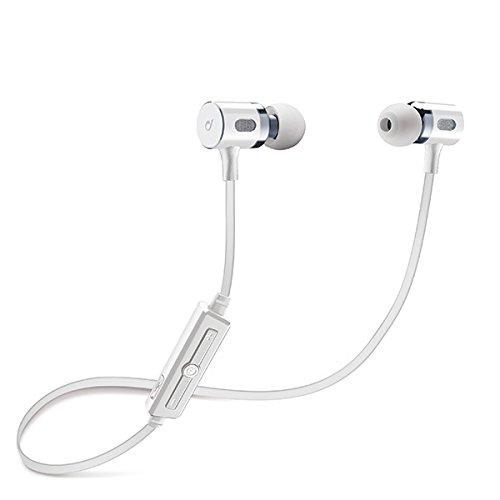 Cellularline MOSQUITO Dentro de oído, Banda para cuello Binaurale Inalámbrico Blanco -...