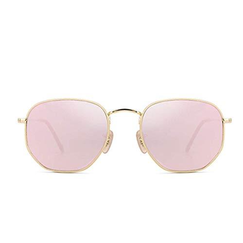 Yuany Sonnenbrille Weibliche Models Koreanische Version Der Flut Retro UV Brille Rundes Gesicht Net Red Street Shot Sonnenbrille Ins