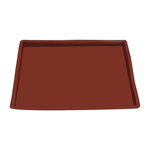 Silikon Kuchen Rollen Matte Antihaft hitzebeständiges Ofen Backblech Blatt Multifunktions Pizza Pan Gebäck Auflage (Antihaft-gebäck-matte)