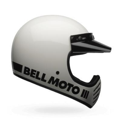 Bell HELMET MOTO-3 CLASSIC WHITE M