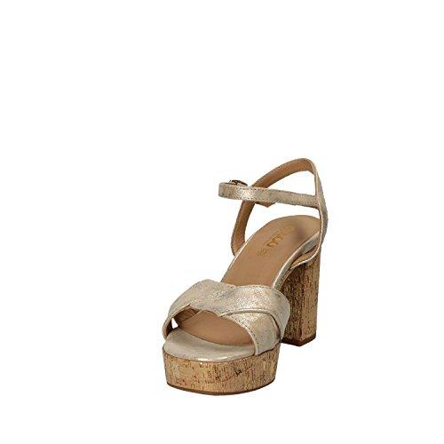 IGI&CO 1186222 Sandalo Tacco Donna Giallo
