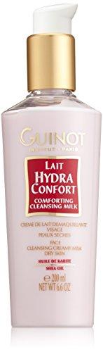 Guinot Lait Hydra Confort Shea Oil Latte Struccante, Pelle Secca - 200 ml
