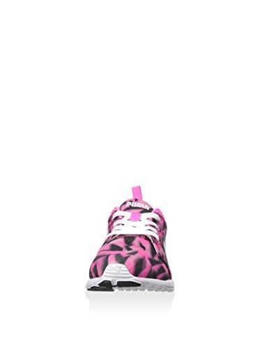Puma Carson Runner Geo Camo Synthetik Laufschuh Fluro Pink-White