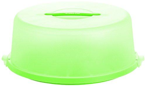 Emsa BASIC Cloche alimentaire, protection et transport des aliments, 33 cm, blanc/Jungle