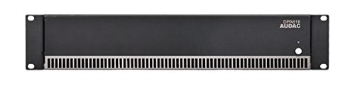 AUDAC DPA616 16.0channels Home Wired Black audio amplifier - audio amplifiers (16.0 channels, 960 W, D, 0.1%, 100 dB, 60 W)
