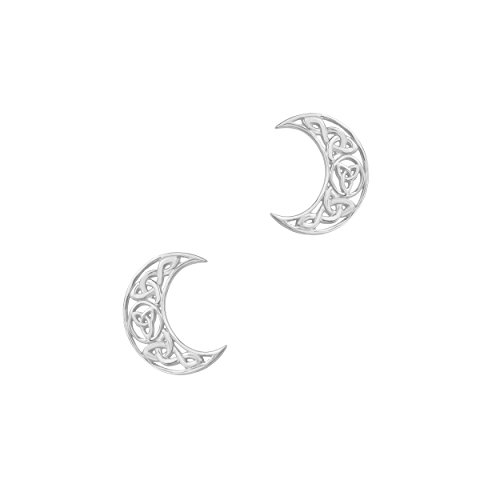 celtic-silver-stud-earrings-crescent-9410-sterling-silver