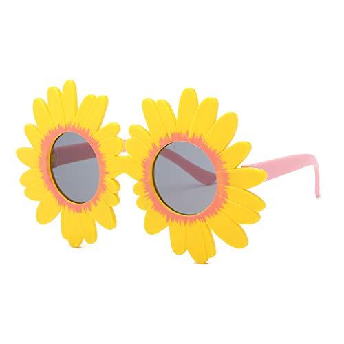 Haorw Kinder Sonnenbrille Mode Sun Flower Runde Niedlich