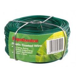 SupaGarden fil enduit plastique 0.8mm x 50m