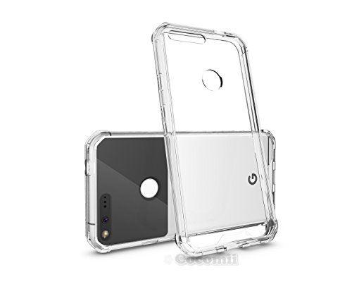 Google Pixel XL Hülle, Cocomii Modern Armor NEW [Crystal Clarity] Premium HD Clear Anti-Scratch Shockproof Hard Bumper Shell [Slim Fit] Full Body Ultra Thin Lightweight Transparent Cover Case Schutzhülle (Crystal Clear)