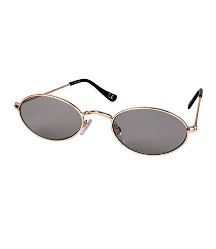 SIX Damen Sonnenbrille, Heart Shaped, UV-Filter, Sommer, Sonne, Stahlgestell, silber, grau (324-537)