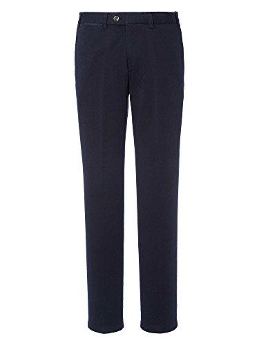 Hiltl Messieurs Pantalon Chino Coupe moderne bleu foncé