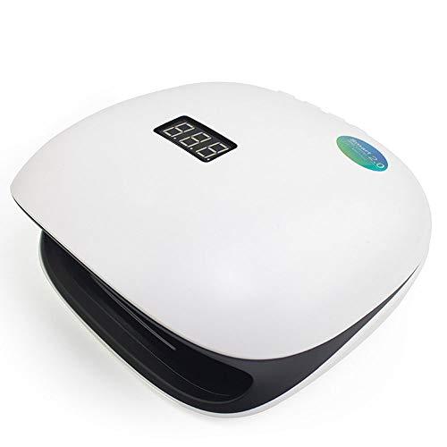 QXXNB UV 48W LED Nageltrockner, Lampe für Gel Email Builder mit Sensor 4 Timer LCD Bildschirm und Dual Speed   mit Timer Schnelles Trocknen mit Smart Auto-Sensing - Speed-speicher