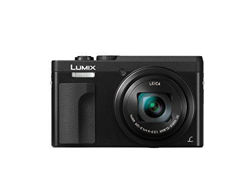 "Panasonic Lumix DC-TZ91 Appareil-photo compact 20.3MP 1/2.3"" MOS 5184 x 3888pixels Noir - Appareils photos numériques (20,3 MP, 5184 x 3888 pixels, MOS, 30x, 4K Ultra HD, Noir)- Version étrangère"