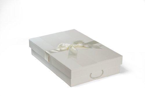 Die Klassische Brautkleidbox, 75cm x 50cm x 15cm, 'CHELSEA IVORY'
