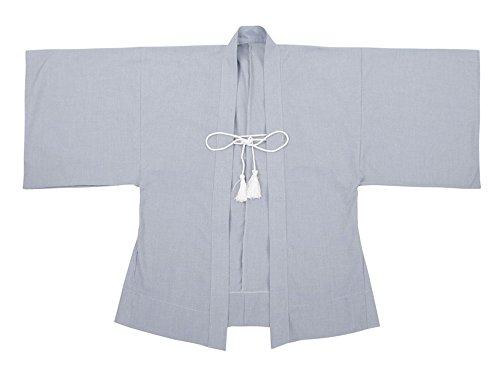 an Samurai Haori Kimono Jacke (Einheitsgröße, Grau) ()