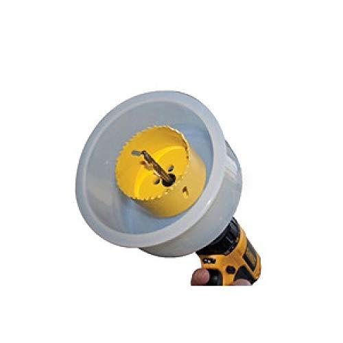 Dade - Raccogli polvere del trapano a tazza modello D.A.D.E da agganciare verticalmente al soffitto