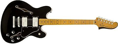 Fender 0243102506 Starcaster Maple Fingerboard Electric Guitar - Black