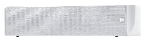 Canton CD 1050 Centerlautsprecher (60/100 Watt) weiss hochglanz (Stück) (Regal Center-lautsprecher)