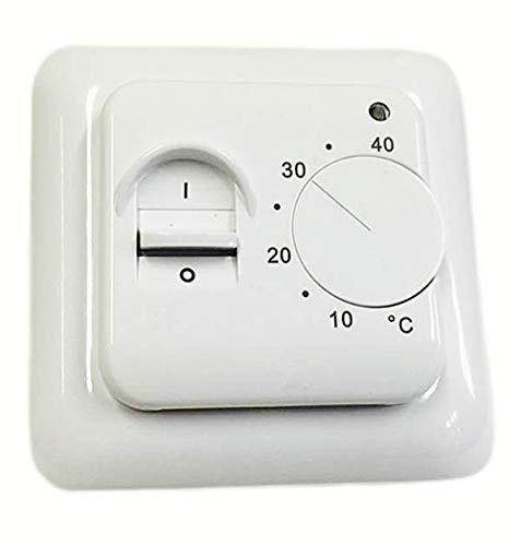 Thermostat BTC70 Regler für elektrische Fußbodenheizung Bodentemperaturfühler -
