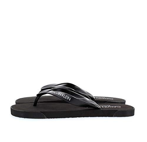 Calvin Klein KM0KM00338 FF Sandals FLIP-Flops Herren Black 43/44