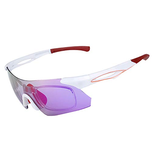 ZKAMUYLC SonnenbrilleRahmenlose Fahrradbrille Mountainbike Fahrrad Sonnenbrille UV400 Schutzbrille Brillen Oculos Ciclismo 5 Farben