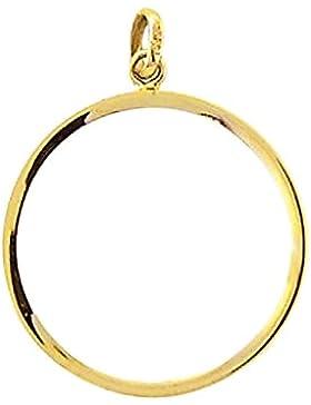 Gold 14 k ( 585 ) Münzfassung