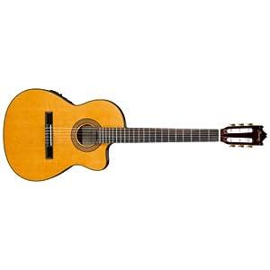 Ibanez GA5TCE-AM - Chitarra da concerto a spalla mancante e riproduttore di suoni, colore: Ambra con finitura lucida