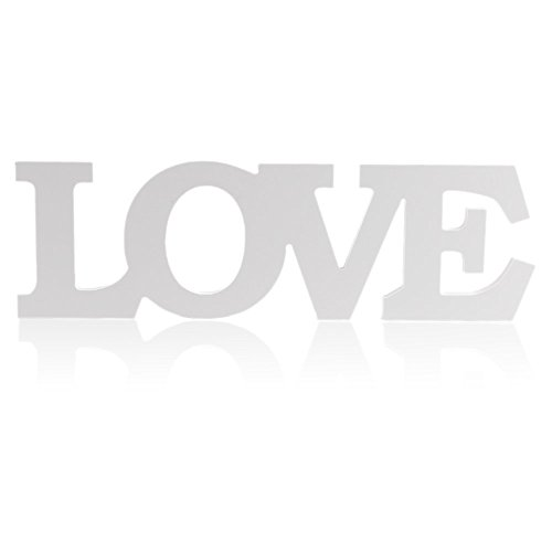 Smartrich stets Love Muster Buchstabe Dekoration Zeichen für Hochzeit Party Tisch Decor