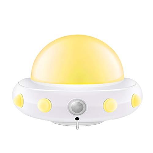 Veilleuses Créative À LED USB, Chambre À Coucher pour Enfants Chambre Lumières De Chevet Atmosphère De Sommeil, Lumières Temporisées, Luminosité Réglable (lumières Jaunes).