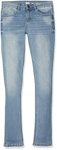 IKKS Junior Denim Slim Bleu Clair Jeans, (Light Blue 84), Medium (Taille Fabricant:26) Garço
