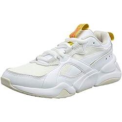 Puma Nova 2 Wn's, Baskets Femme, Blanc White 02, 37 EU