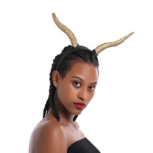 Smonke Halloween Unisex Kopfbedeckung Polyester Kostüm Requisiten Kreative Horn Kuh Ohren Zubehör Lustige Mode Stirnband Party Cosplay Kostüm - Mann Im Kuh Kostüm