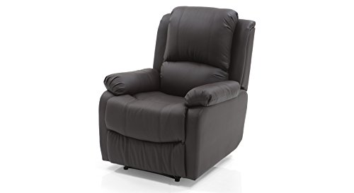 Urban Ladder Tribbiani Single Seater Recliner (Chocolate Brown)