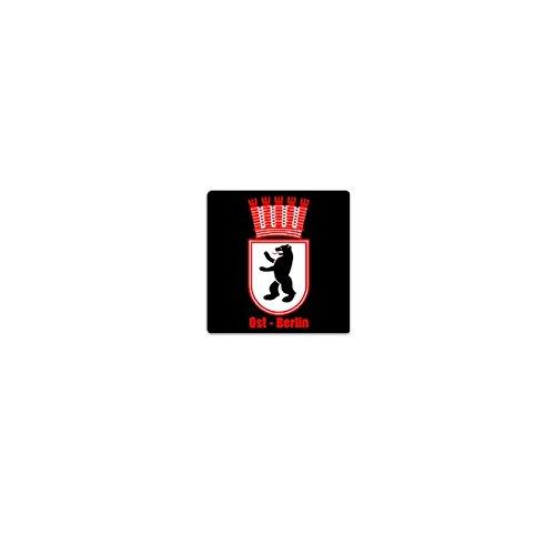 Aufkleber / Sticker -Ost Berlin Deutschland Hauptstadt Bär Ddr Groß-Berlin Westberlin SBZ Wappen Abzeichen Emblem 7x7cm #A3639