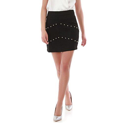 La Modeuse - Jupe courte à taille haute Noir