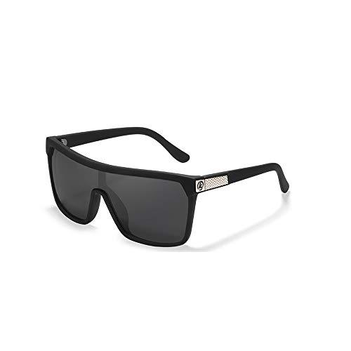 Fourthomme Herrenmode Großen Kasten Verbunden Polarisierte Sonnenbrille Windschutzscheibe Outdoor-Reitbrille Liebhaber Sonnenbrille Fahrer Sonnenbrille (Stil 1)