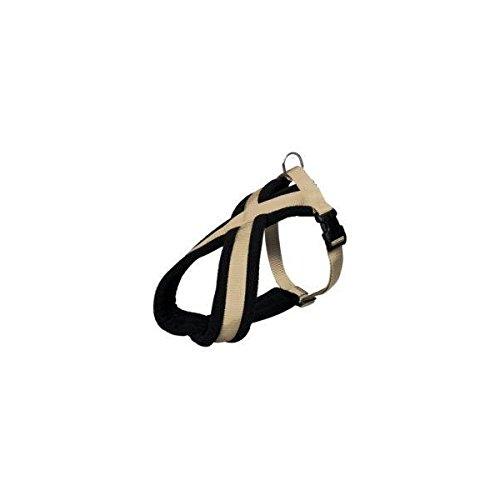 hundeinfo24.de Trixie 20425 Premium Geschirr, L-XL: 70-100 cm/25 mm, beige