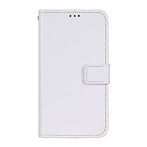 CiCiCat OUKITEL K5 Hülle Handyhüllen, Flip Back Cover Case Schutz Hülle Tasche Schutzhülle. (5.7'', Weiß)