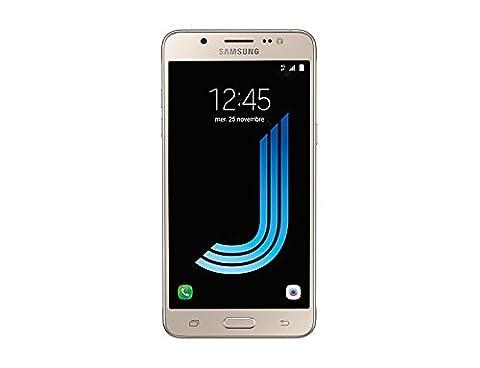 Samsung Galaxy J5 2016 Smartphone débloqué 4G (Ecran: 5,2 pouces - 16 Go - Micro-SIM - Android) Or
