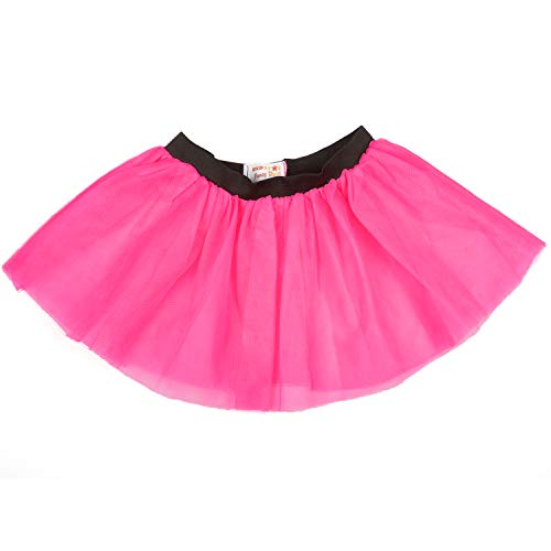 0746fad1751100 REDSTAR FANCY DRESS Ladies Neon Tutu Skirt 80s Party Outfit Hen Party  Running Costume 1980s (14-22 UK, Pink)