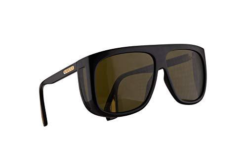 Gucci GG0467S Sonnenbrille Schwarz Mit Grünen Gläsern 62mm 001 GG0467/S 0467/S GG 0467S