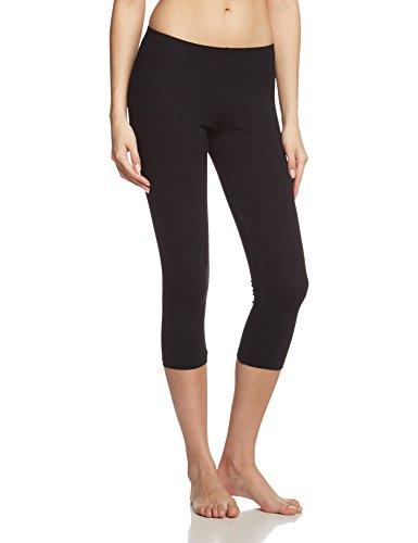 Calida Damen 3/4 Comfort Legging, (schwarz 992), 42 (Herstellergröße: S = 40/42)
