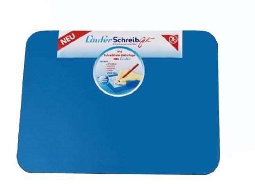 Läufer 30911 SchreibGut Schreibtischunterlage zum Schreiben lernen, 33,5 x 45 cm, blau, für den perfekten Schulanfang