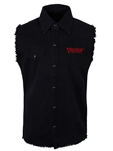 BULLET FOR MY VALENTINE TEMPER TEMPER   Sleeveless Work Shirt  L