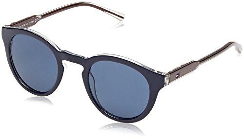 Tommy Hilfiger Unisex-Erwachsene Sonnenbrille TH 1443/S KU Mehrfarbig (Blue Cryburg), 48