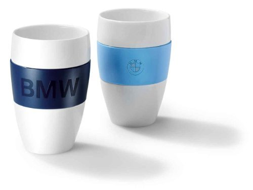 Preisvergleich Produktbild BMW Original Designbecher Becher Tasse Cup dunkelblau