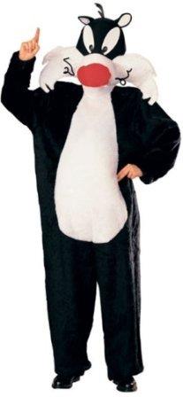 Sylvester Kostüm - Generique - Sylvester-Kostüm aus Looney Tunes für Erwachsene Einheitsgröße