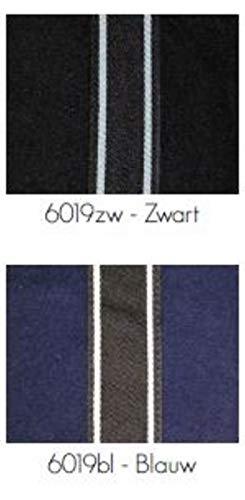 QHP Fleecedecke Abschwitzdecke Basic mit Halsteil Kreuzgurte schwarz (145 cm) - 2