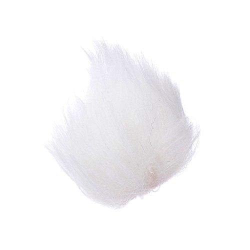 Fell Mikrofon Windschutzscheibe Für Revers Lavalier-Mikrofon - Weiß