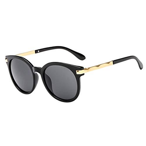 Makefortune Womens Sonnenbrillen, Fashion Polarized Mirrored Lens Goggle ()